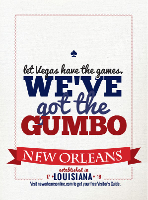 New Orleans Gumbo Ad