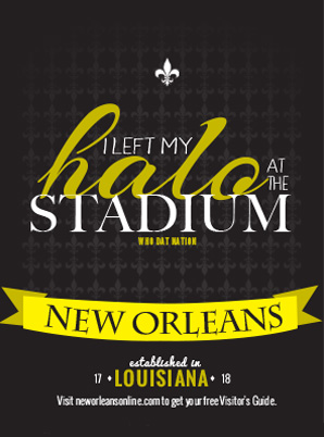 New Orleans Who Dat Ad